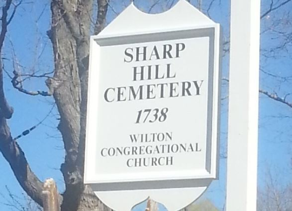 Sharp Hill Sign